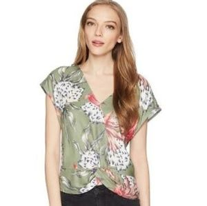 Roxy Tuscan Colors Convertible Blouse